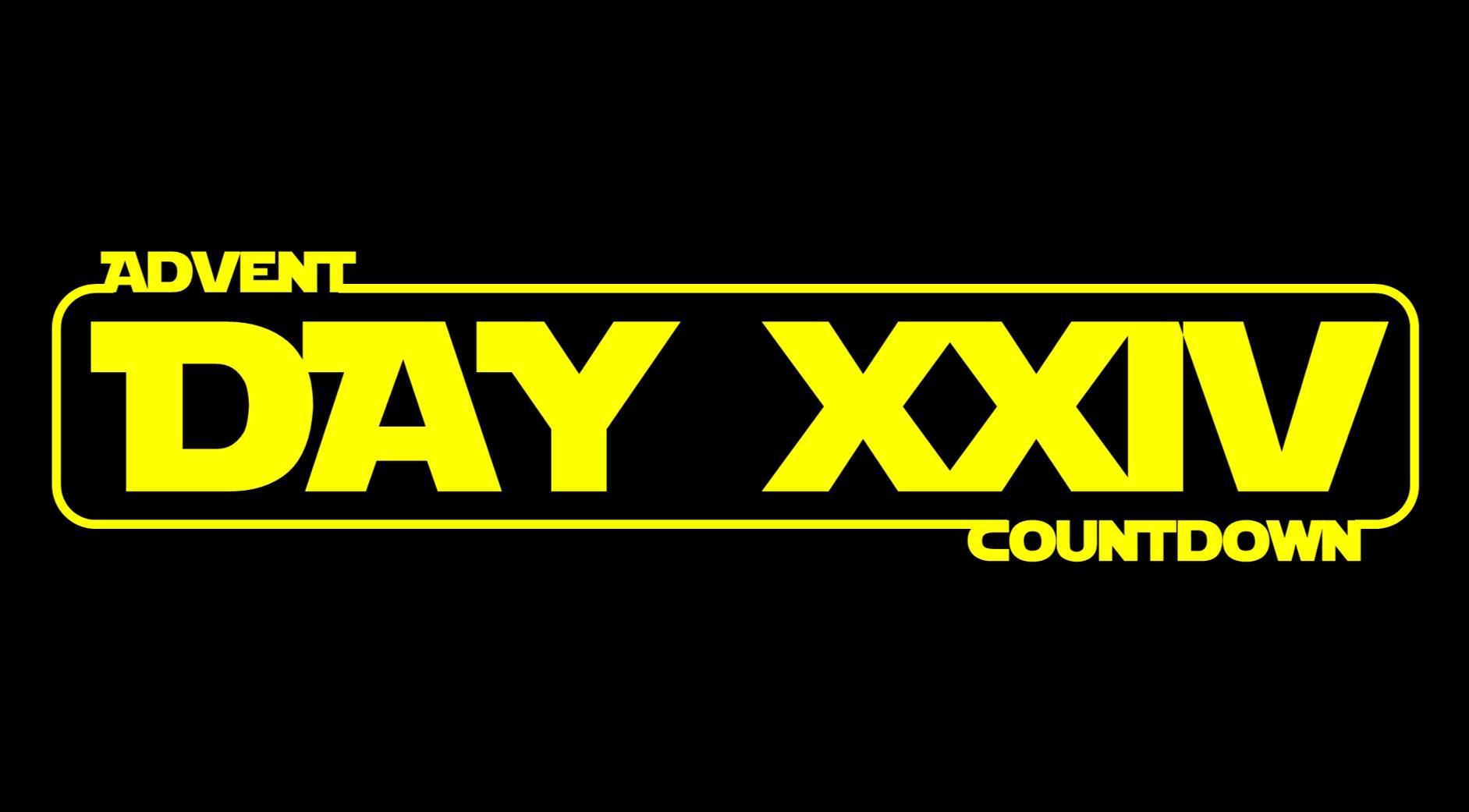 Star Wars Advent Calendar  - Day 24
