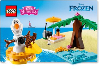 [UK/EU] Free Olaf's Summertime Fun at shop.LEGO.com