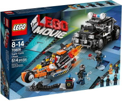 The Movie STICKER SHEET LEGO 70808 Super Cycle Chase