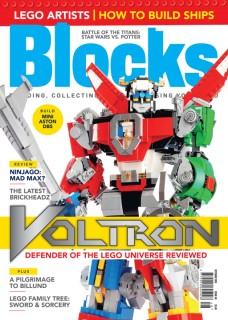 Blocks Issue 48 checks out LEGO Voltron: Defender of the Universe