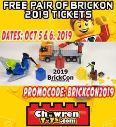 Free BrickCon 2019 Tickets
