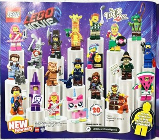 The LEGO Movie 2 Collectable Minifigures revealed!