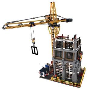 Modular construction site LDD file   Brickset: LEGO set