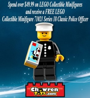 Free Series 18 Classic Police Officer! | Brickset: LEGO set guide