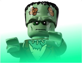The LEGO Creations of Victor Frankenstein