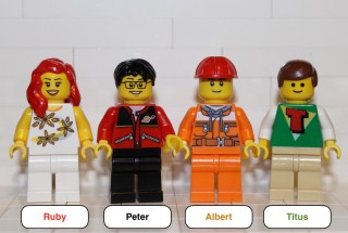 The Build My World Minifigure giveaway!