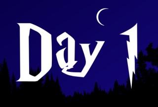 Harry Potter Advent Calendar  - Day 1