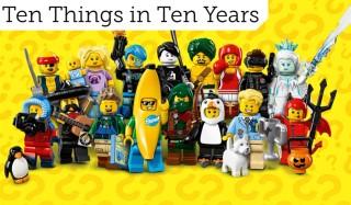 Ten Things in Ten Years - Collectable Minifigures