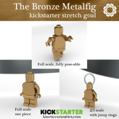 Fancy A Solid Bronze Minifig Brickset Lego Set Guide And