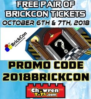 free tickets to brickcon brickset lego set guide and database