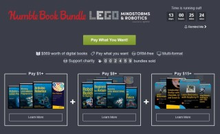 Humble Bundle of LEGO Robotics Books