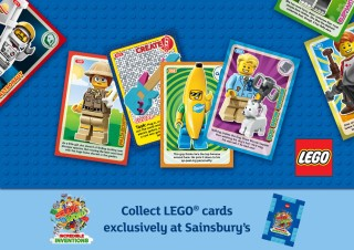 Sainsbury/'s New Official Lego Book 2018