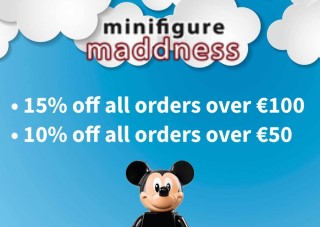 Need some CMFs? Here's an offer from Minifigure Maddness