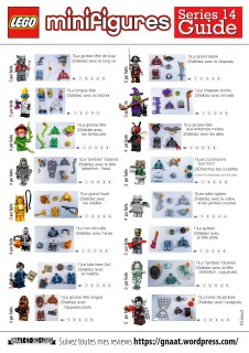 Identification guide to lego simpsons series 2 minifigures blind.