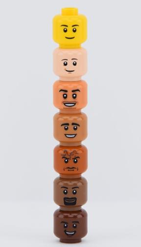 What LEGO minifigure colour represents you best?