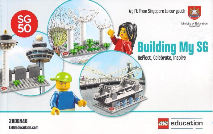 Commemorating Singapores 50th year of independence | Brickset.