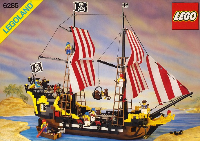 LEGO PIRATES Minifigure PIRATE From Sets 6271 6285