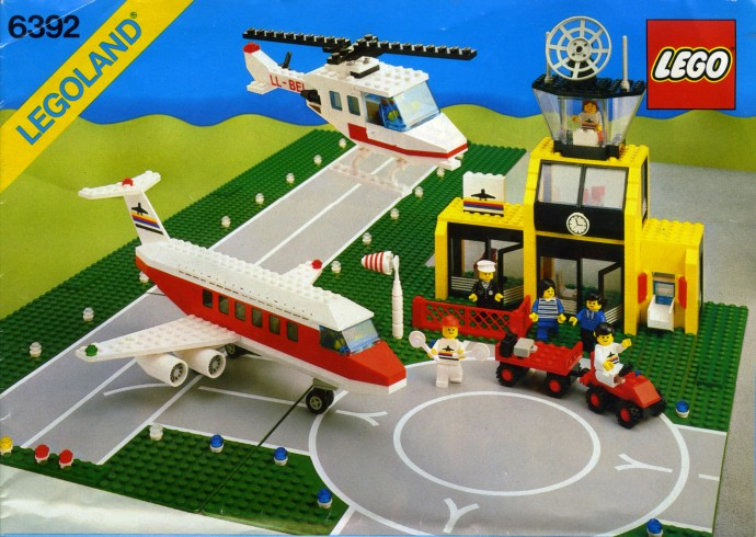 Classic Lego Sets Airports Planes And Air Travel Part 1