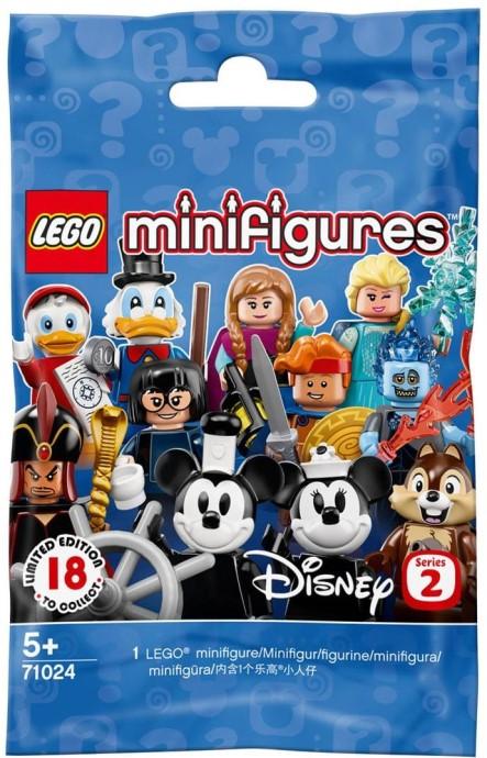 you pick Lego Disney Minifigures series 2