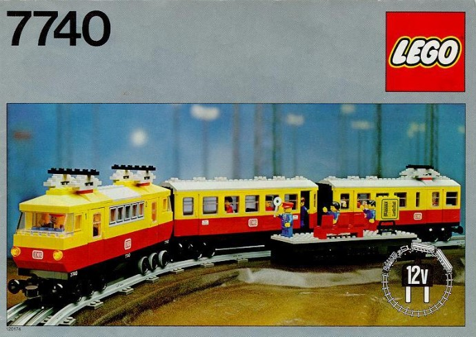 Classic LEGO sets: 12V Trains | Brickset: LEGO set guide and database