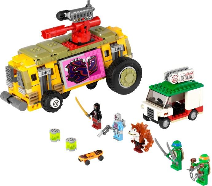 Lego la Kraang figurine from set 79104 Teenage Mutant Ninja Turtles
