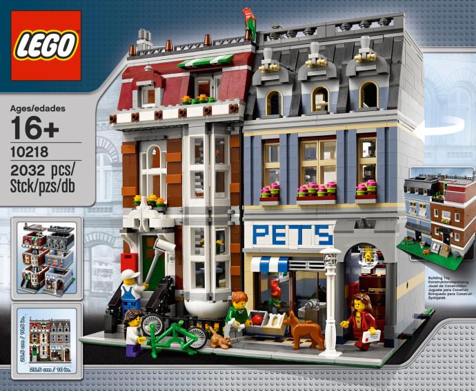 lego creator modular pet shop 10218 retiring soon the. Black Bedroom Furniture Sets. Home Design Ideas