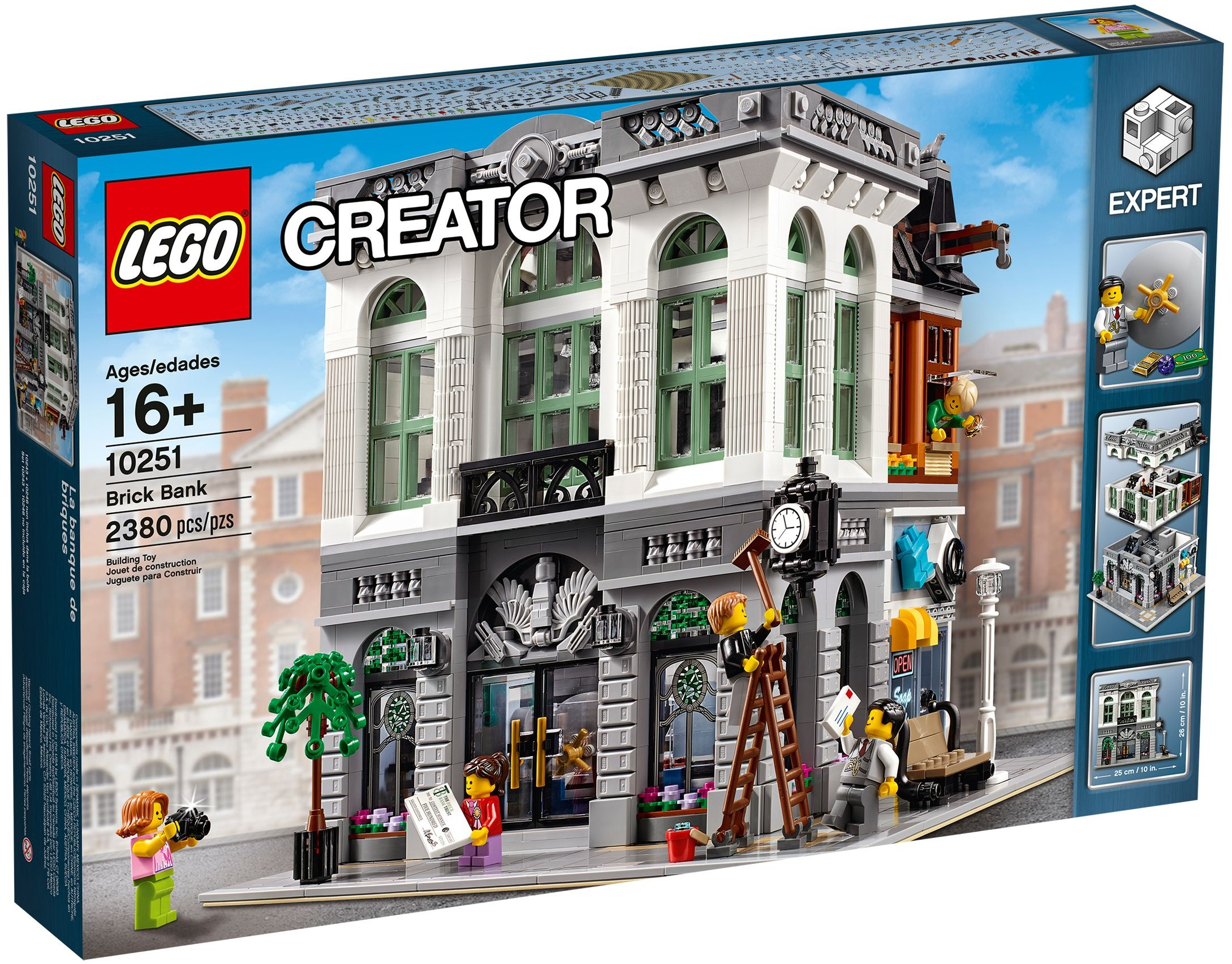 The Back Of The Box Shows A Huge Number Of Details And Various Scenerios Which Can Be Played Out In This Set The Level Of Interior Detail Matches That Of