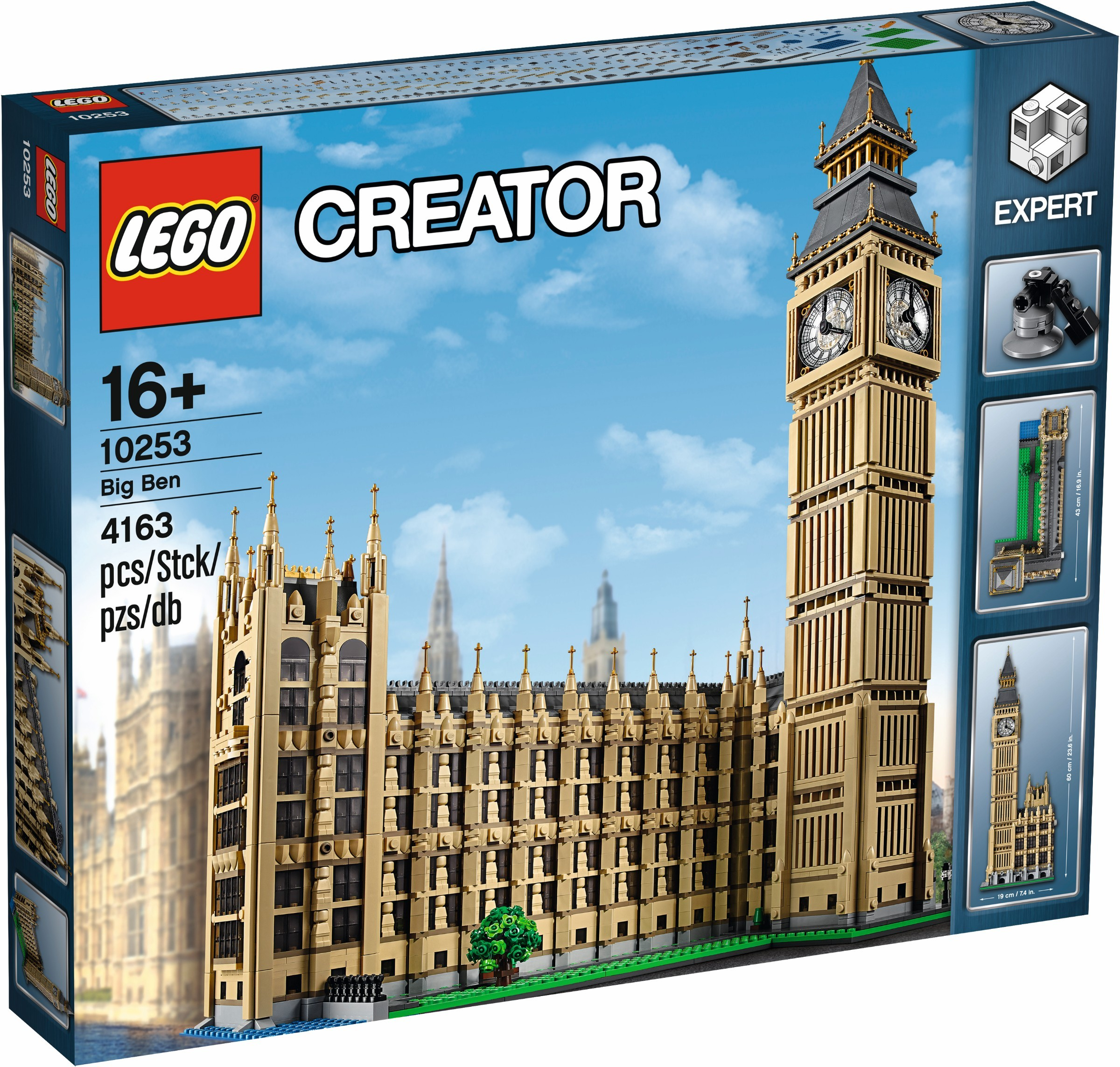 Lego Creator Expert 10253 Big Ben Review Brickset Lego Set Guide
