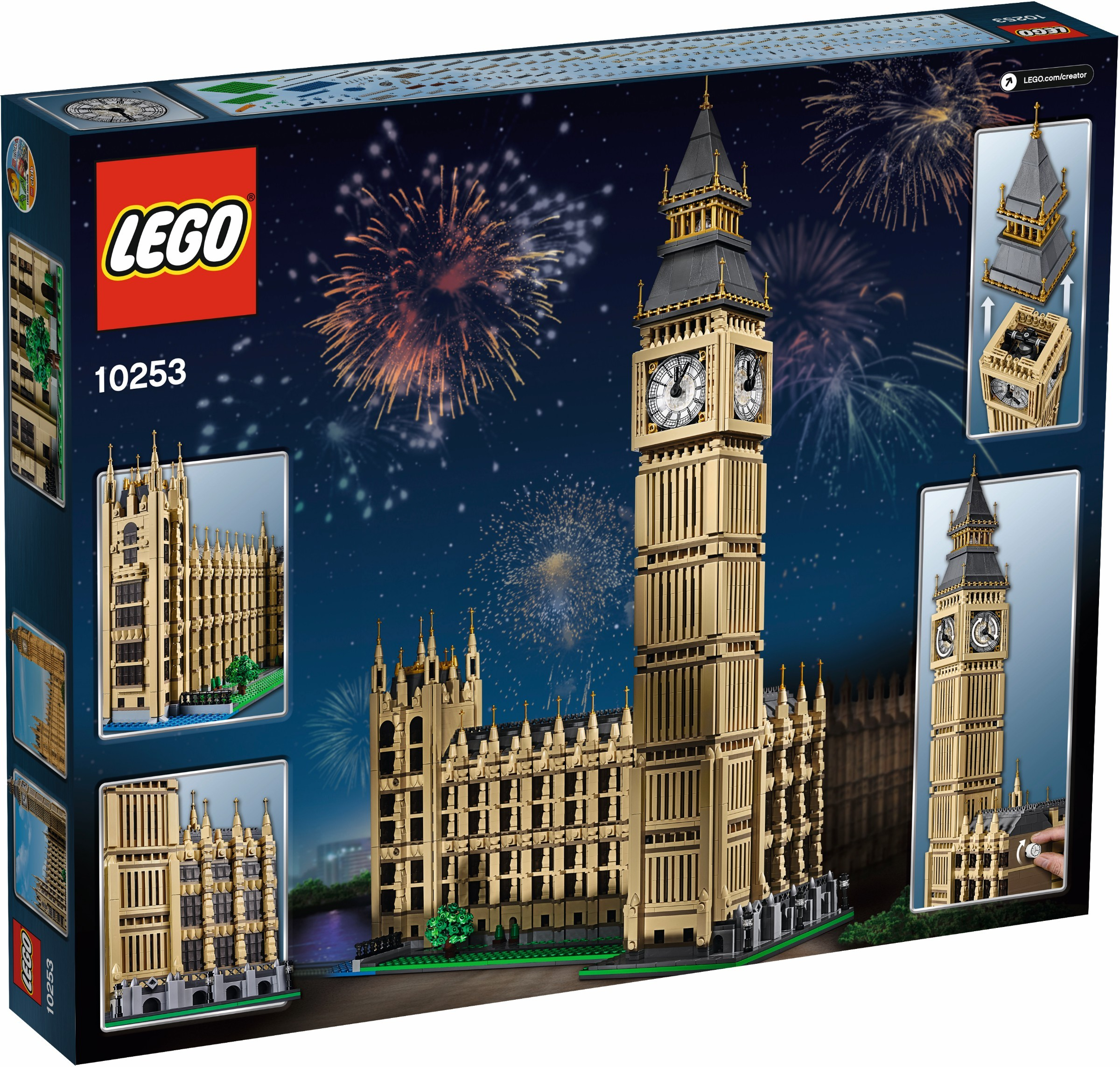 Review: 10253 Big Ben | Brickset: LEGO set guide and database