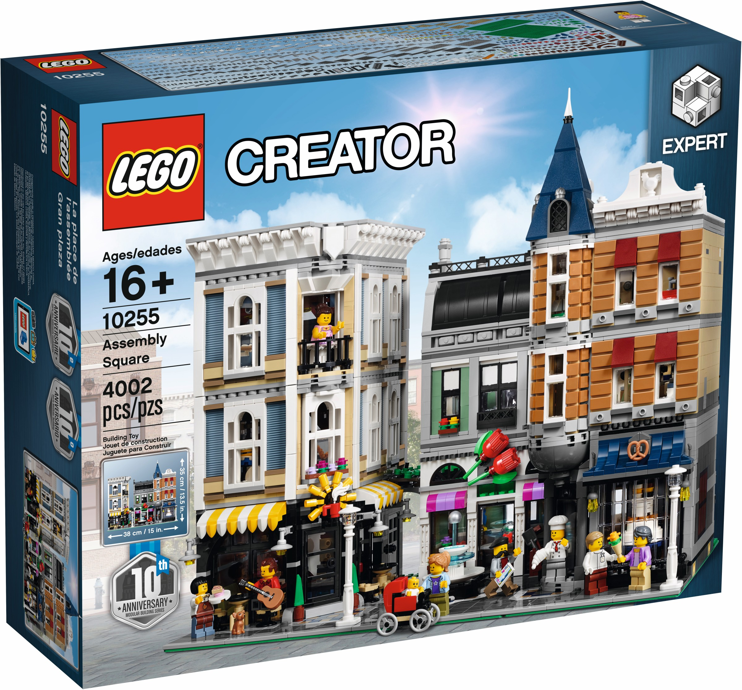 LEGO Creator Expert 10255 Assembly Square review | Brickset