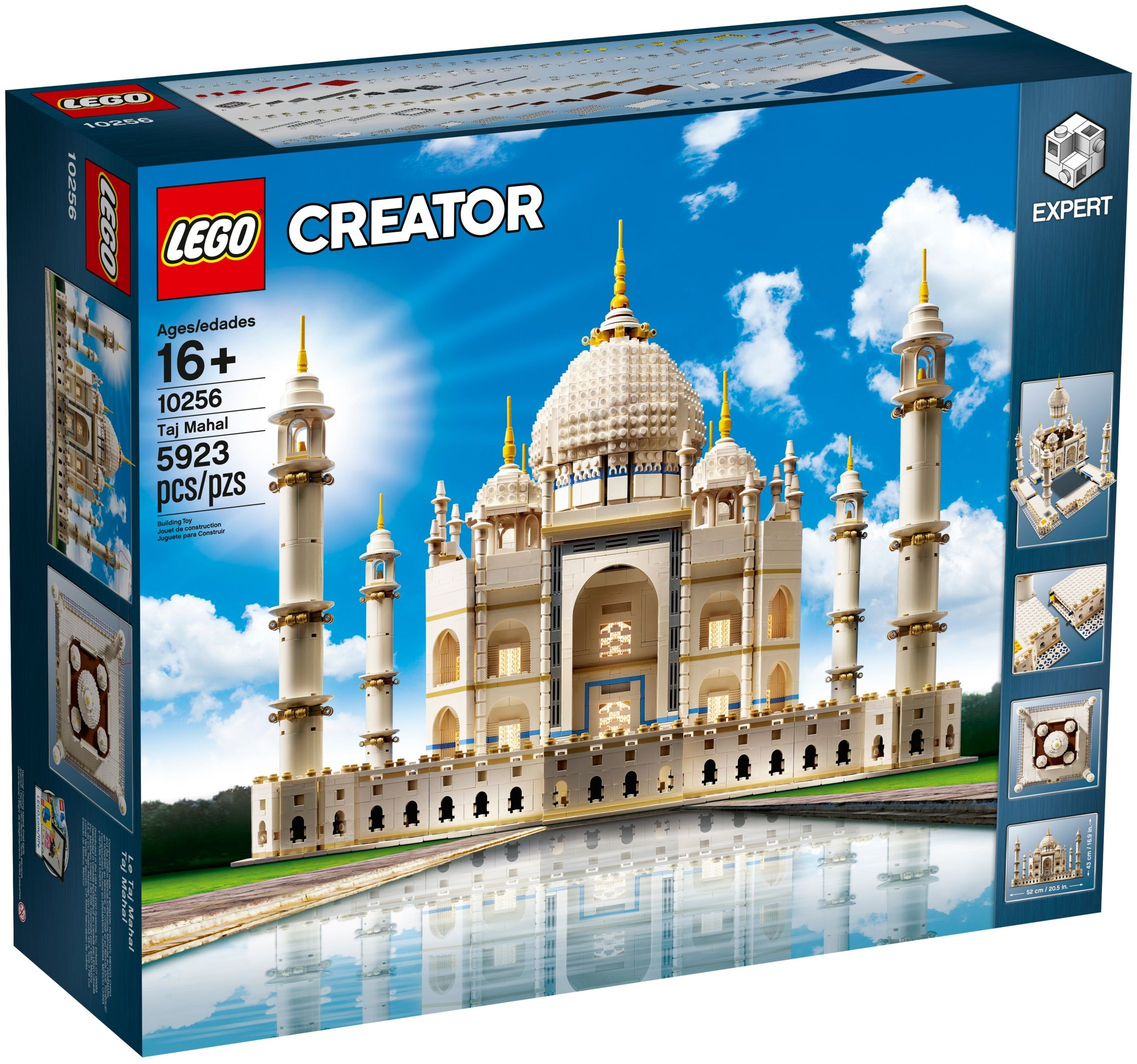 review 10256 taj mahal brickset lego set guide and database. Black Bedroom Furniture Sets. Home Design Ideas