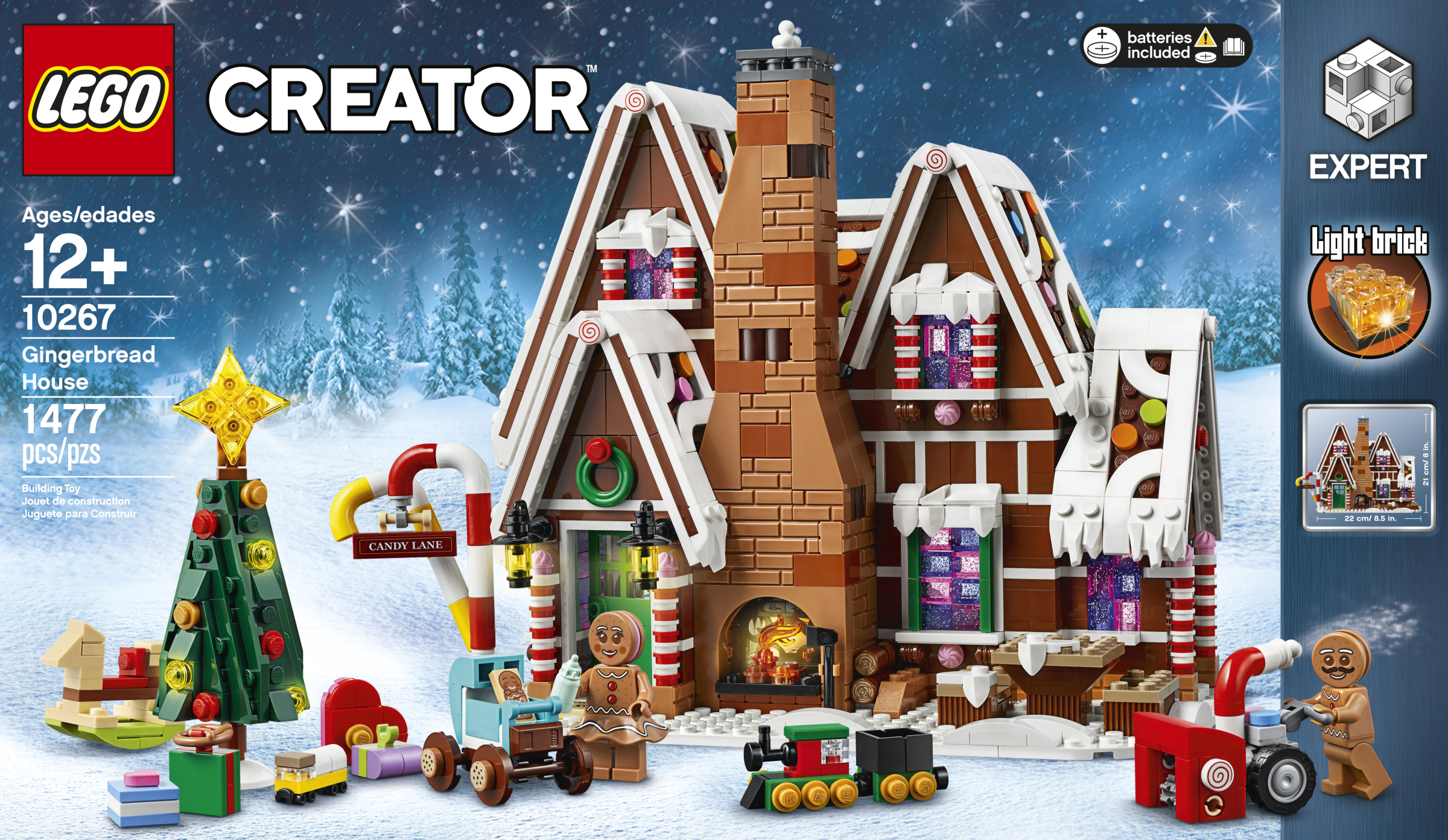 Lego Christmas Set 2019.This Delicious Gingerbread House Is This Year S Winter