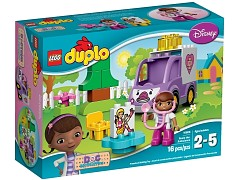 Lego 10605 Doc McStuffins Rosie the Ambulance additional image 2