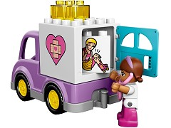 Lego 10605 Doc McStuffins Rosie the Ambulance additional image 4