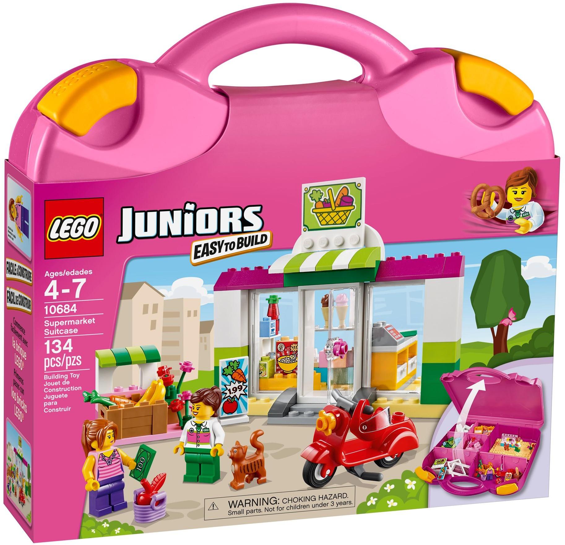 LEGO Juniors - Supermarket Suitcase Set 10684 10684_alt1