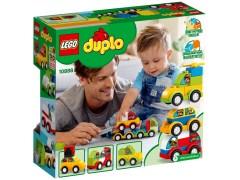 Конструктор LEGO (ЛЕГО) Duplo 10886 Мои первые машинки  My First Car Creations