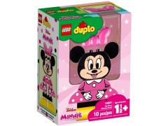 Конструктор LEGO (ЛЕГО) Duplo 10897 Моя первая Минни  My First Minnie Build