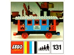 Lego 131 Passenger Coach additional image 2