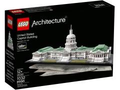 Конструктор LEGO (ЛЕГО) Architecture 21030 Капитолий United States Capitol Building