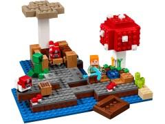 Конструктор LEGO (ЛЕГО) Minecraft 21129 Грибной остров The Mushroom Island