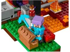 Конструктор LEGO (ЛЕГО) Minecraft 21143 Портал в Подземелье  The Nether Portal