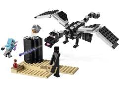 Конструктор LEGO (ЛЕГО) Minecraft 21151 Последняя битва  The End Battle