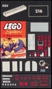 Дополнительное изображение 2 набора Лего 216 2 X 10 Bricks