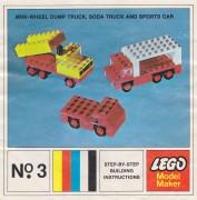 Дополнительное изображение 2 набора Лего 3 Mini-Wheel Model Maker No. 3 (Kraft Velveeta)