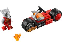 Lego 30265 Worriz' Fire Bike additional image 5