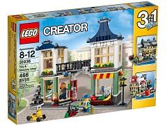 Дополнительное изображение 2 набора Лего 31036 Магазин по продаже игрушек и продуктов