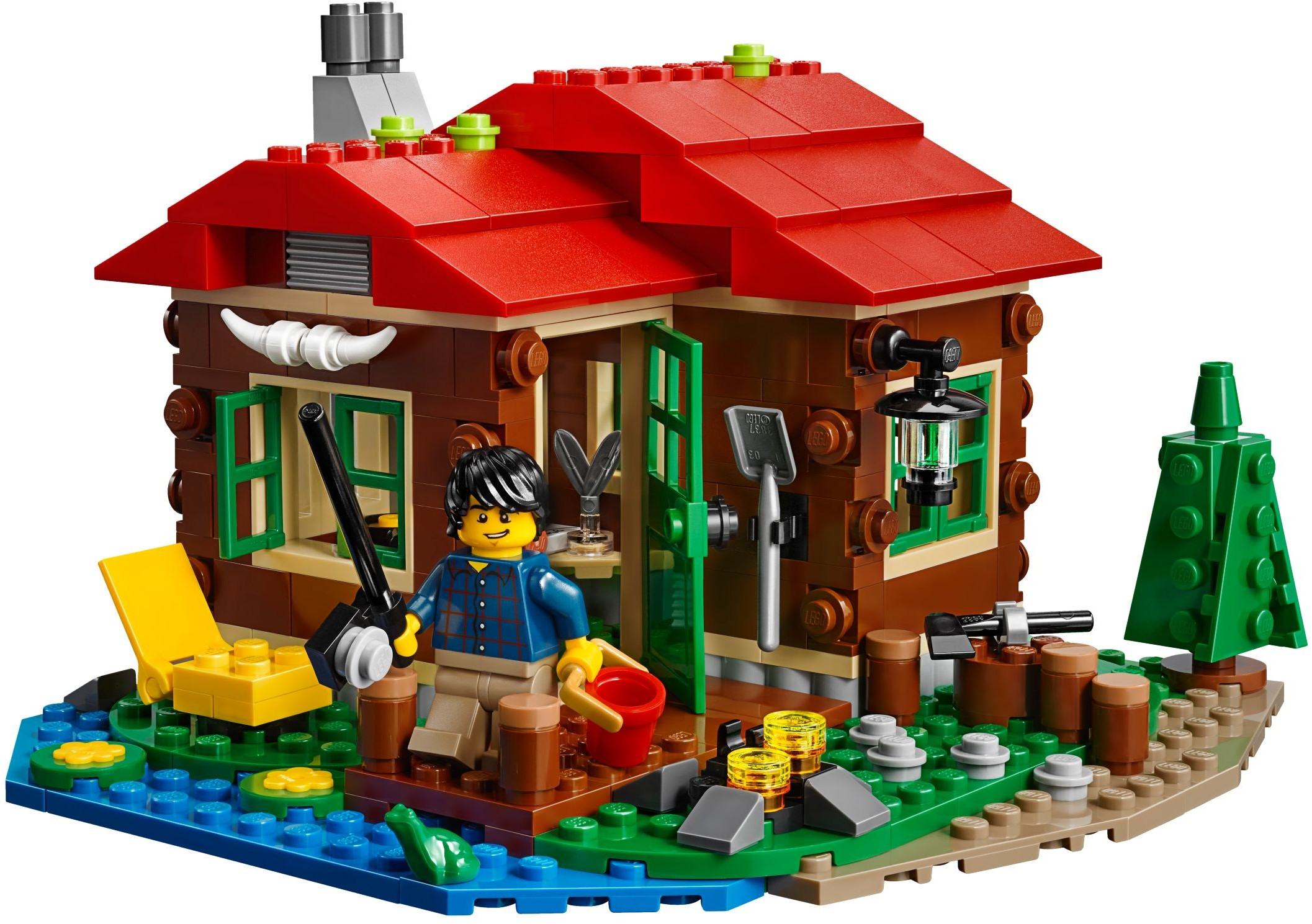 Lego 31048 Lakeside Lodge