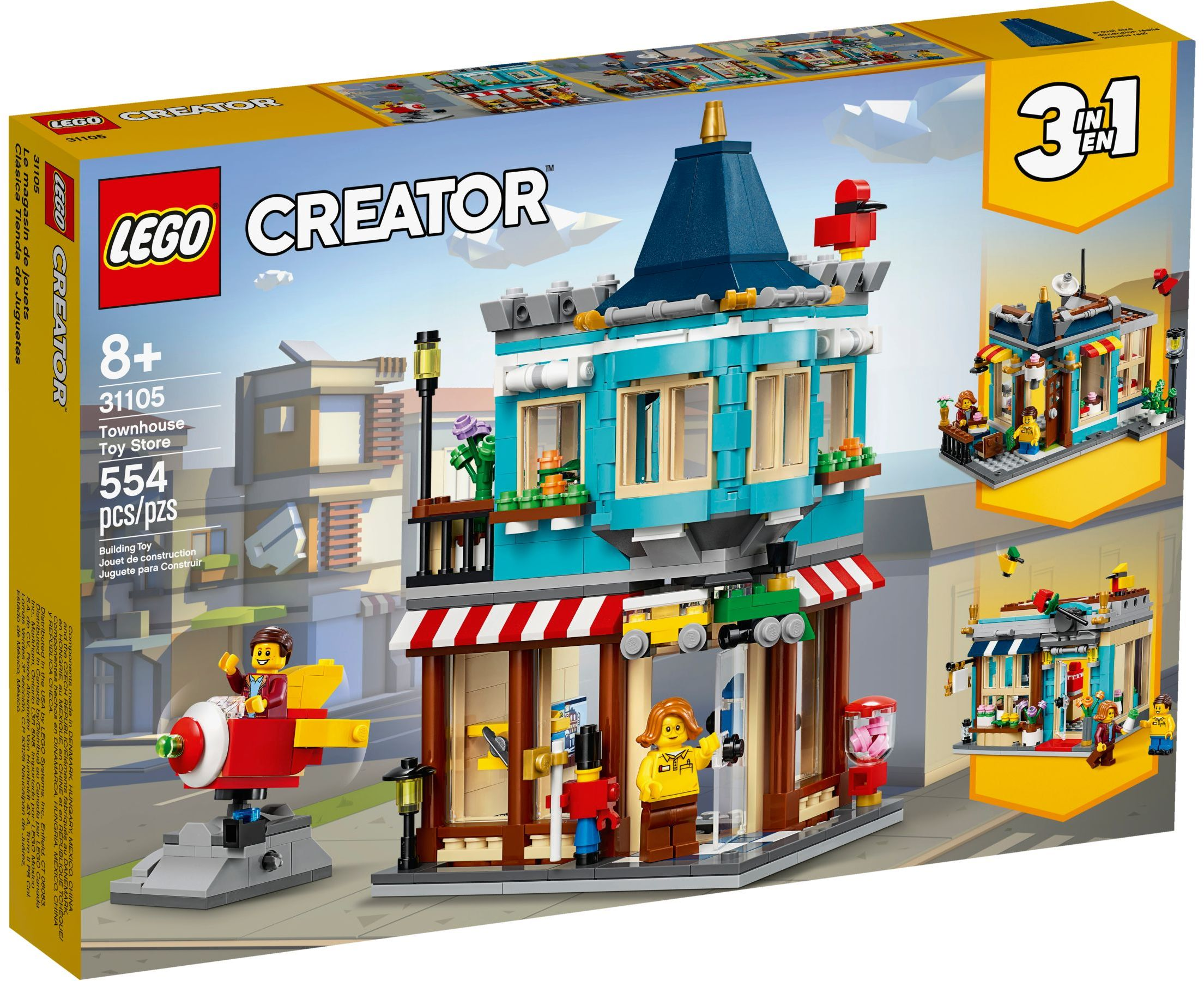 Review 31105 Townhouse Toy Store Brickset Lego Set Guide And Database