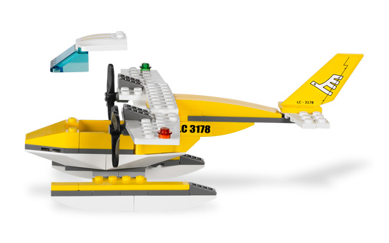From sky to sea, this Seaplane goes anywhere!