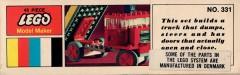 Дополнительное изображение 4 набора Лего 331 Dump Truck